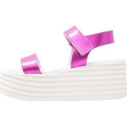 Rzymianki damskie: Topshop WOBBLE  Sandały na platformie pink