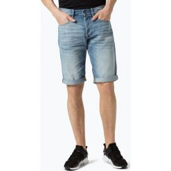 G-Star - Męskie spodenki jeansowe, niebieski. Niebieskie bermudy męskie G-Star, z jeansu, retro. Za 319,95 zł.