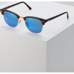 RayBan CLUBMASTER Okulary przeciwsłoneczne brown/blue. Brązowe okulary przeciwsłoneczne damskie aviatory Ray-Ban. Za 779,00 zł.