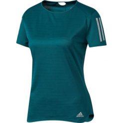 Bluzki asymetryczne: Adidas Koszulka damska Response Tee zielona r. XS (BQ7962)