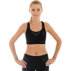 Brubeck Biustonosz Crop top Fitness czarny  r.XL (CR10070). Biustonosze sportowe Brubeck, xl. Za 86,64 zł.