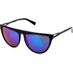 """Okulary przeciwsłoneczne damskie: Okulary przeciwsłoneczne """"BL205303"""" w kolorze granatowo-szarym"""