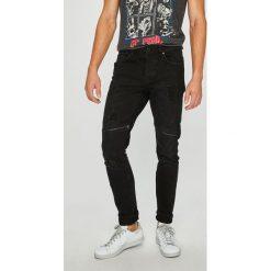 Only & Sons - Jeansy Spun. Czarne jeansy męskie regular Only & Sons, z bawełny. W wyprzedaży za 149,90 zł.