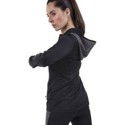 Bluzy damskie: Joma sport Bluza damska Flash Running czarna r. M (900483.100)