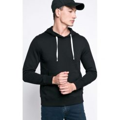 Produkt by Jack & Jones - Bluza. Szare bluzy męskie rozpinane marki PRODUKT by Jack & Jones, m, z bawełny, z kapturem. W wyprzedaży za 49,90 zł.