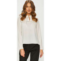 Answear - Koszula. Czerwone koszule wiązane damskie ANSWEAR, l, z elastanu, casualowe, z długim rękawem. Za 119,90 zł.