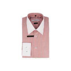 Koszula ARMANDO slim 14-08-33. Czerwone koszule męskie na spinki marki Cropp, l. Za 229,00 zł.