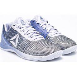 Reebok - Buty Crossfit Nano 7. Szare buty sportowe damskie marki Reebok, l, z dzianiny, z okrągłym kołnierzem. W wyprzedaży za 329,90 zł.
