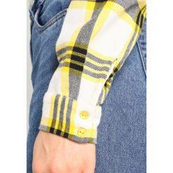 Koszule wiązane damskie: Noisy May NMERIK FRONT Koszula lemon chrome/black/white