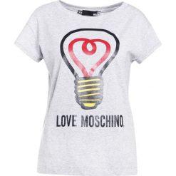 Odzież damska: Love Moschino Tshirt z nadrukiem grey