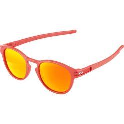 Oakley LATCH Okulary przeciwsłoneczne red/prizm ruby. Czerwone okulary przeciwsłoneczne damskie aviatory Oakley. Za 639,00 zł.