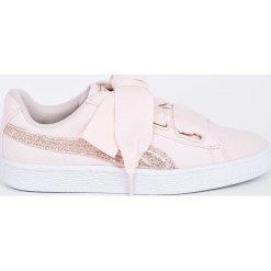 Puma - Buty Basket Heart Canvas Wn's. Brązowe buty sportowe damskie marki NEWFEEL, z gumy. W wyprzedaży za 249,90 zł.