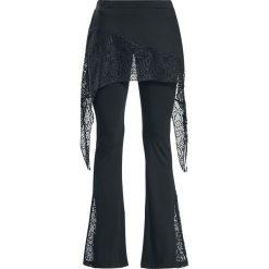 Spodnie damskie: Gothicana by EMP Take Comfort Legginsy czarny