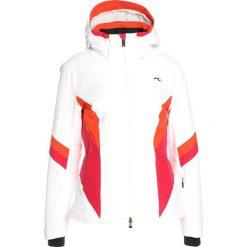 Odzież damska: Kjus WOMEN LAINA JACKET Kurtka narciarska white/persian red