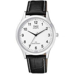 Biżuteria i zegarki męskie: Zegarek Q&Q Męski C212-304 Klasyczny Slim czarny