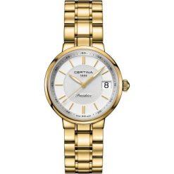 RABAT ZEGAREK CERTINA DS Stella C031.210.33.031.00. Białe zegarki damskie CERTINA, ze stali. W wyprzedaży za 2076,80 zł.