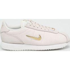 Nike - Buty Cortez Basic Jewel 1. Szare buty sportowe damskie Nike, z materiału. W wyprzedaży za 329,90 zł.