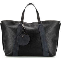 Torebka damska 85-4E-014-1. Czarne torebki klasyczne damskie Wittchen, w paski, duże. Za 575,00 zł.
