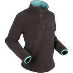 """Bluzy polarowe: Bluza z polaru """"baranka"""", długi rękaw bonprix szary"""