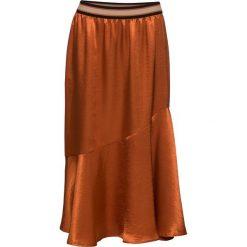 Spódniczki: Spódnica z materiału w optyce satyny bonprix medziany