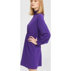 Fioletowa Sukienka  Forecast. Fioletowe sukienki mini marki other, l. Za 79,99 zł.