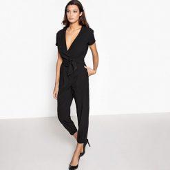 Kombinezony damskie: Kombinezon spodnie, z krótkim rękawem