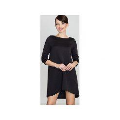 Sukienki dresowe: Sukienka K134 Czarny