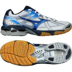 Buty sportowe damskie: Mizuno Buty damskie Wave Bolt białe r. 38.5  (V1GA156024)