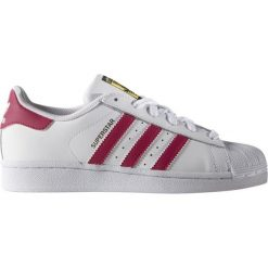 Buciki niemowlęce chłopięce: Adidas Buty dziecięce Superstar Foundation białe r. 36 2/3 (B23644)