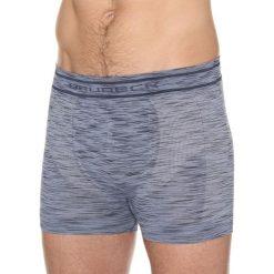 Bokserki męskie: Brubeck Bokserki męskie Fusion jeansowe r. S (BX10780)