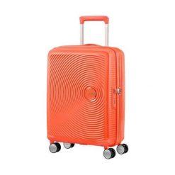 Walizka Spinner Soundbox brzoskwiniowa (32G-66-001). Pomarańczowe walizki marki Samsonite. Za 338,95 zł.