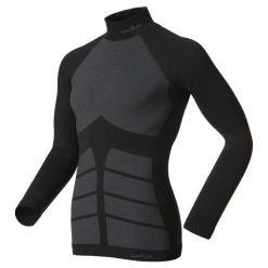 Odlo Koszulka Evolution Warm czarna r. S (180952). Czarne koszulki sportowe męskie Odlo, m. Za 289,95 zł.
