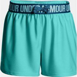 Under Armour Spodnie damskie Play Up Short turkusowe r. L (1291718-425). Niebieskie spodnie sportowe damskie Under Armour, l. Za 35,24 zł.