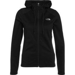The North Face TECH MEZZALUNA  Kurtka z polaru black. Różowe kurtki sportowe damskie marki The North Face, m, z nadrukiem, z bawełny. Za 299,00 zł.