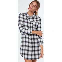 Etam - Koszula nocna Chino. Szare koszule nocne i halki marki Etam, z bawełny. W wyprzedaży za 99,90 zł.