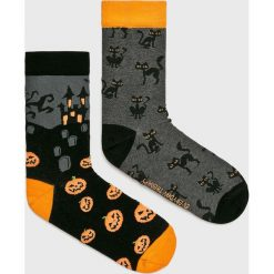 Medicine - Skarpetki Halloween (2-Pack). Czarne skarpetki damskie MEDICINE, z bawełny. Za 29,90 zł.