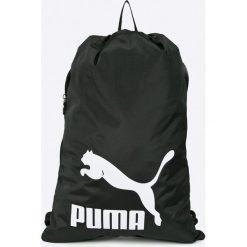 Puma - Plecak. Czarne plecaki damskie Puma, z materiału. W wyprzedaży za 59,90 zł.