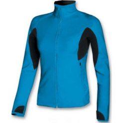 Brugi Bluza damska 2NAN-27E Azzurro Nero r. S. Czarne bluzy sportowe damskie marki DOMYOS, z elastanu. Za 82,78 zł.