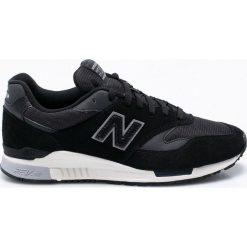 New Balance - Buty ML840AI. Czarne buty skate męskie New Balance, z materiału, na sznurówki. W wyprzedaży za 319,90 zł.