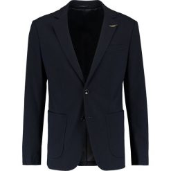 Marynarki męskie slim fit: Pier One Marynarka dark blue