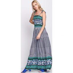 Sukienki hiszpanki: Zielona Sukienka Retrograde