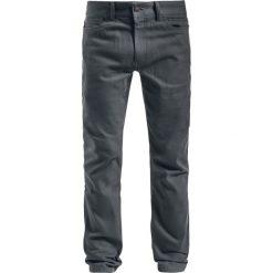 Dickies Herndon Jeansy ciemnoszary. Szare jeansy męskie z dziurami marki Dickies, na zimę, z dzianiny. Za 199,90 zł.