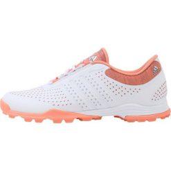 Buty sportowe damskie: adidas Golf ADIPURE SPORT  Obuwie do golfa core white/aero blue/chalk coral