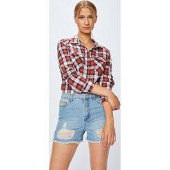 Haily's - Bluzka. Szare bluzki z odkrytymi ramionami Haily's, l, z bawełny, casualowe. Za 79,90 zł.