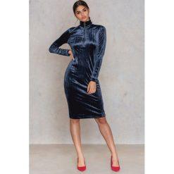 Długie sukienki: Samsoe & Samsoe Sukienka zZiva - Blue,Navy