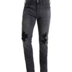 Spodnie męskie: Hollister Co. EXTSKNY BLACK DESTROY ADV Jeansy Slim Fit washed black