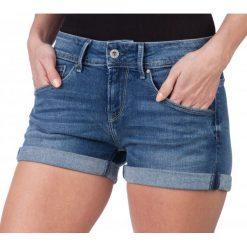 Pepe Jeans Szorty Damskie Siouxie 29 Niebieski. Niebieskie szorty jeansowe damskie marki Oakley, na lato, eleganckie. W wyprzedaży za 148,00 zł.