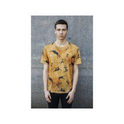 T-shirt Prehistoric. Szare t-shirty męskie z nadrukiem marki Bahabay, l, z bawełny. Za 83,30 zł.