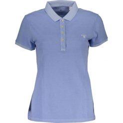 Bluzki damskie: Koszulka polo w kolorze niebieskofioletowym