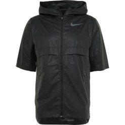 Nike Performance SHIELD JACKET  Kurtka do biegania black/reflective black. Czarne kurtki do biegania męskie Nike Performance, l, z materiału. Za 369,00 zł.
